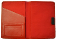 Leather Classic Notebook Red