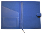 Leather Forever Notebook Blue