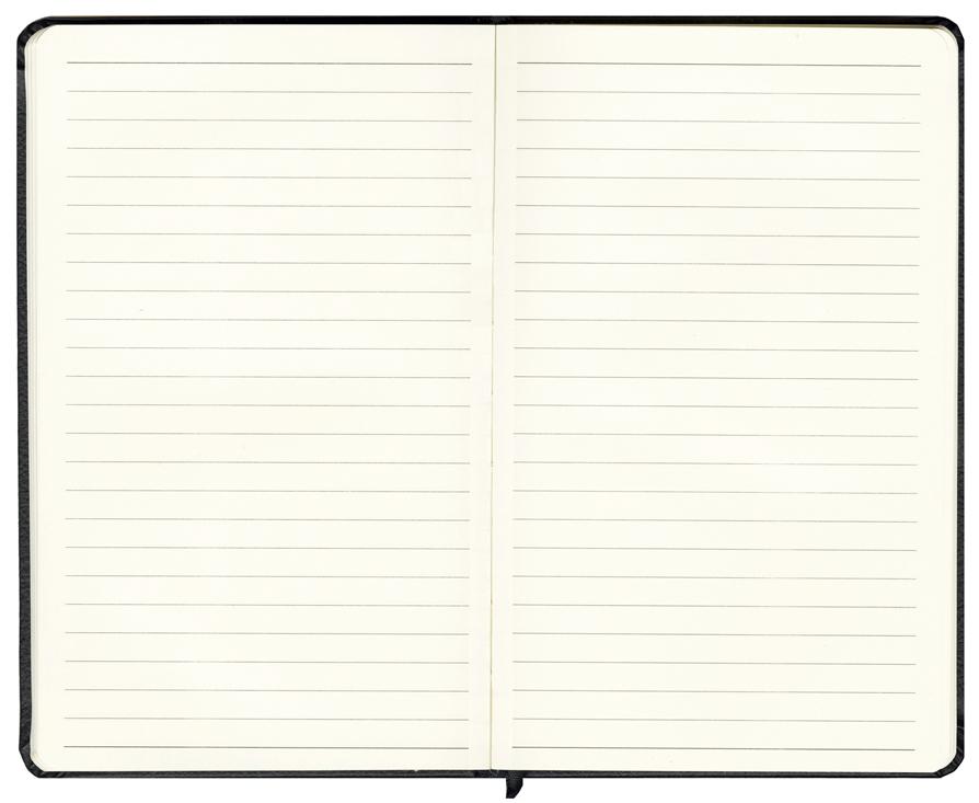Faux Leather Bound Notebook, Bound Hardback Notebooks