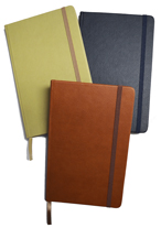 Faux Leather Bound Notebook