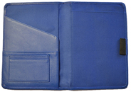 Leather Classic Notebook Blue